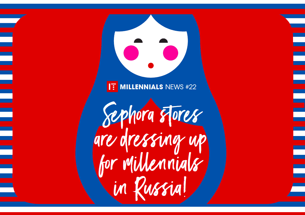 Digital postcard for Sephora in-house communication campaign - 1