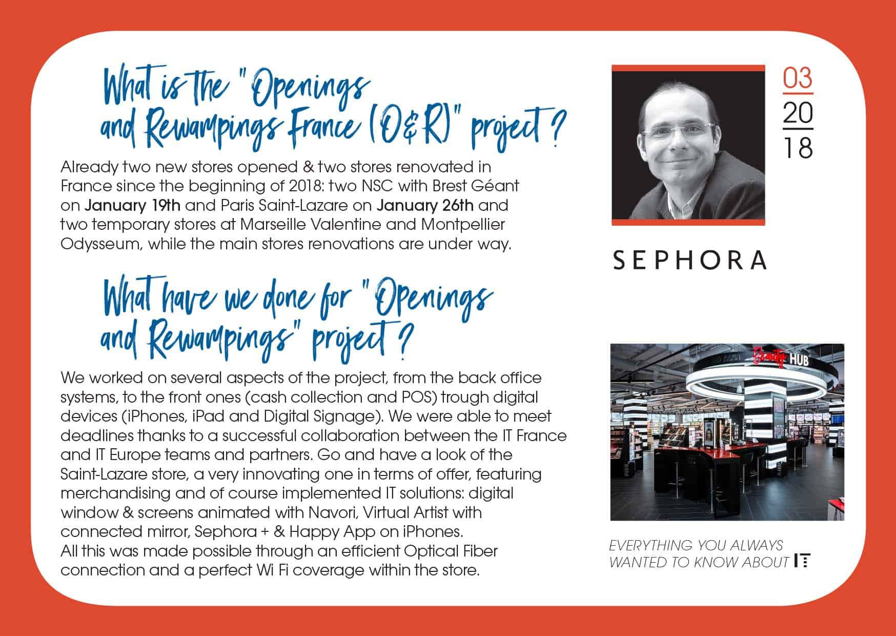 Digital postcard for Sephora in-house communication campaign - 4