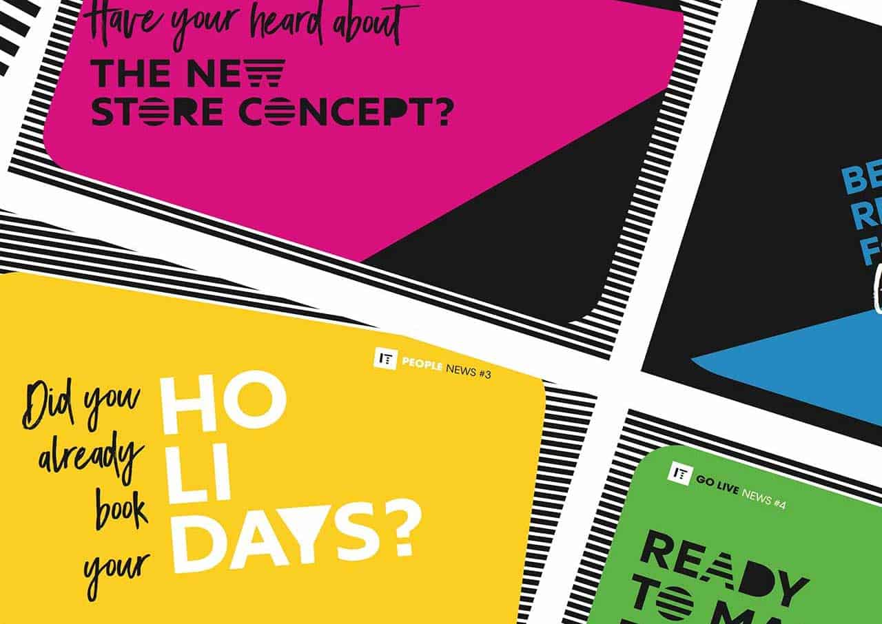 Digital postcard for Sephora in-house communication campaign - 8